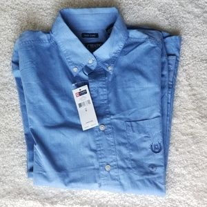Other - Chaps Men Button down Long Sleeve Polo Shirt